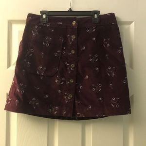 EVERYTHING MUST GO! Patterned Skirt